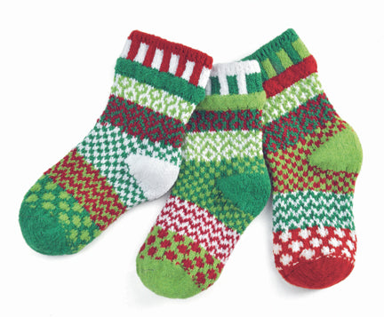 Solmate Kids Socks Humbug, Medium & Large