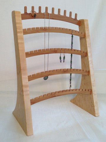 Jewelry Stand, Maple & Bamboo