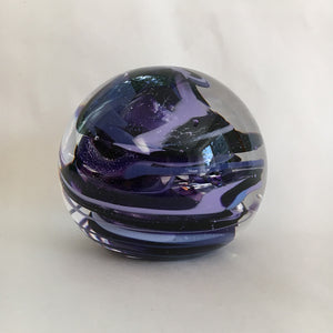 Paperweight, Purple Marble