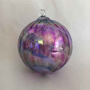 "Medium Ornament #4 - 3.5"" Diameter"