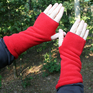 Wristies in Red, Adult Large