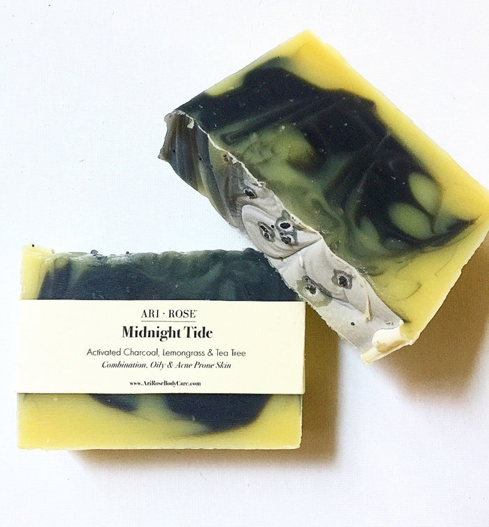 Midnight Tide - Handcrafted Bar Soap
