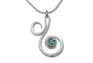 Fiddlehead Pendant