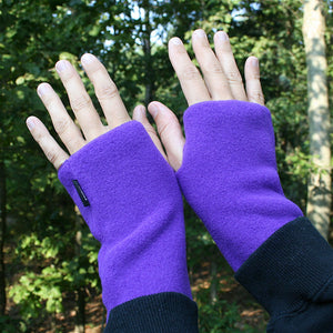 Wristies Short in Purple, Adult Small