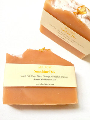 Sunshine Day - Handcrafted Bar Soap
