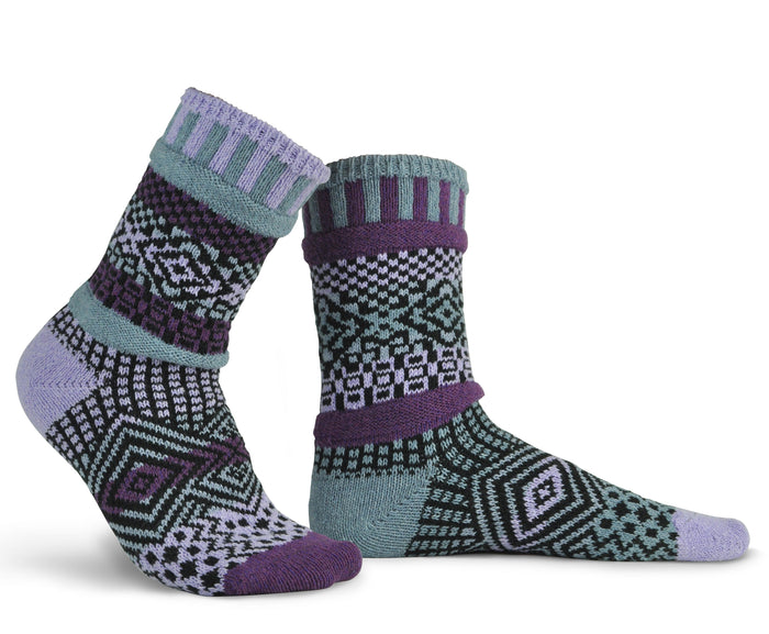 New Color for 2020! Socks Wisteria