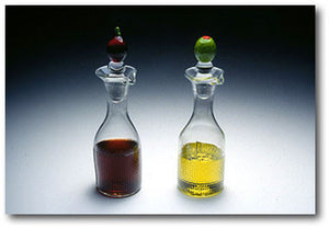 Olive Oil or Vinegar Cruet w/Stopper: TEMPORARILY UNAVAILABLE