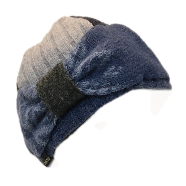 Bow Hat in Denim