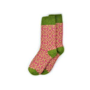 Sidekick Socks, Kingsley Strawberry, ON SALE!