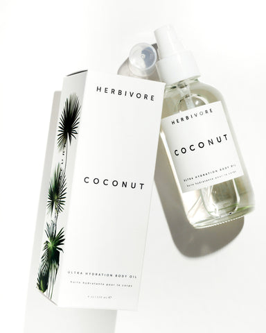 herbivore coconut body oil at maeree
