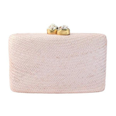 kayu pink jen clutch at maeree