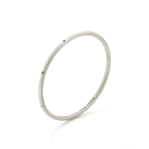 article 22 black diamond bangle bracelet at maeree