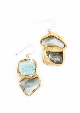 emilie shapiro aquamarine immersion drop earrings at maeree