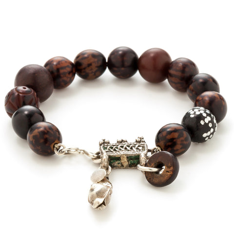 lauren milne antique prayer beads at maeree