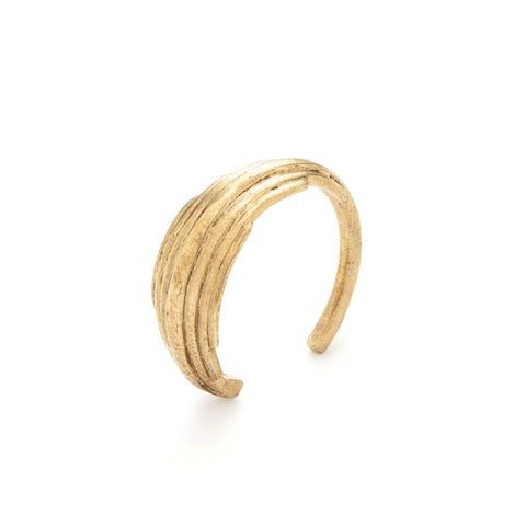collette ishiyama brass wrap ring at maeree