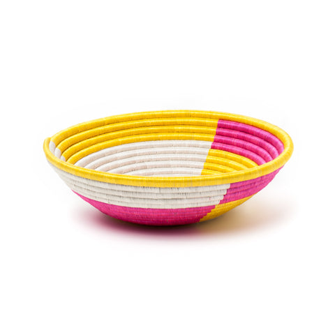 indego africa color block basket at maeree