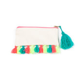 beach bag with tassels