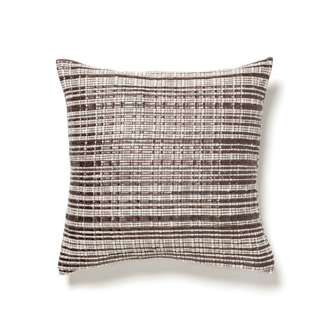 Moroccan silver tweed cushion at maeree