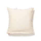 Moroccan wool cushion, reverse
