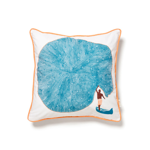 safomasi catch of the day pillow at maeree