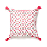 indian screen printed pillow at maeree