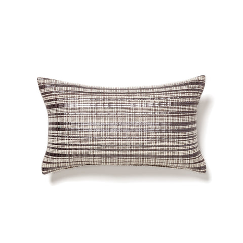 Moroccan wool and leather bolster at maeree