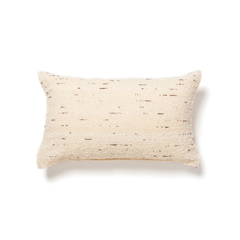 Moroccan wool pillow by Creative Women at maeree