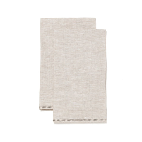 HANDMADE by maeree organic linen tea towel