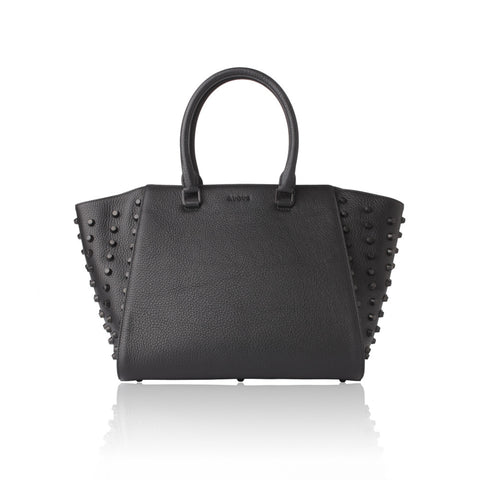 avgvs dionaea studded leather tote maeree