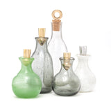handblown recycled glass bottles at maeree