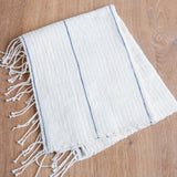 organic cotton striped hand towel maeree creative women
