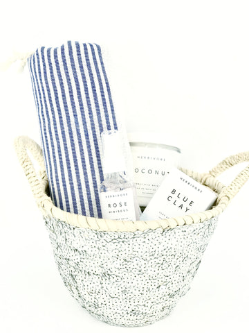 mother's day bath gift basket at maeree