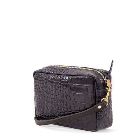 clare v midi sac blue croco crossbody at maeree