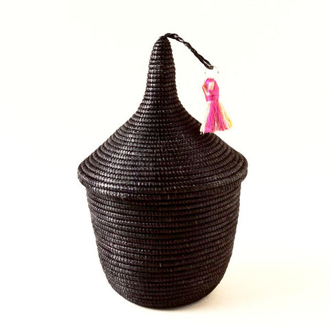 indego africa mini peace basket black at maeree