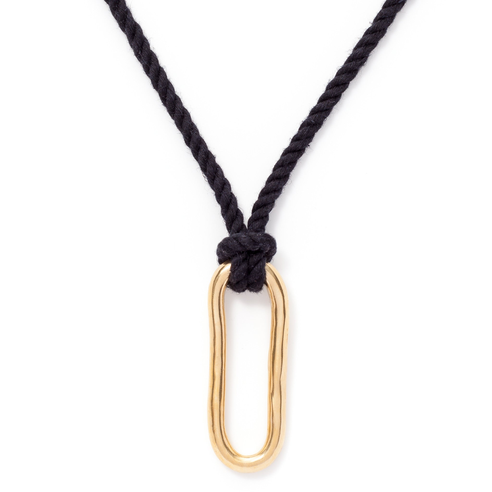 shutter brass stitch tube all leather black necklace detail shop wrapped