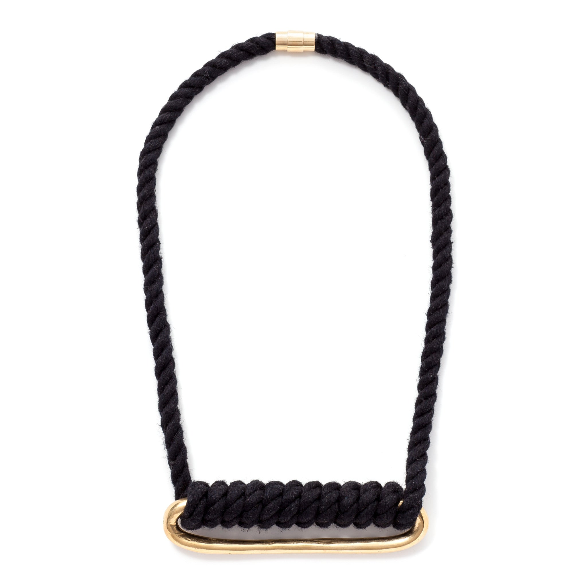 design brass vivid modern jewelry venus edgy tube geometric necklace product