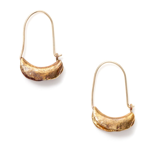 Satomi Studio Arma Hoop Earrings at maeree