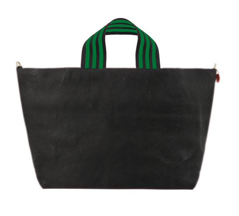 clare v black bateau tote at maeree