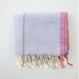 home & loft denim wash turkish towel at maeree