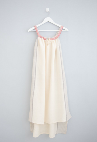 Home & Loft ivory beach dress at maeree