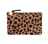 clare v leapord hair on hide wallet clutch at maeree