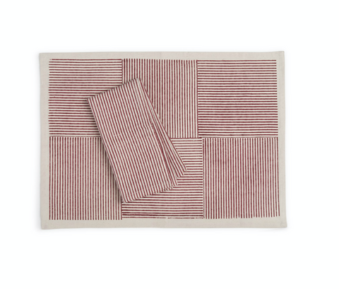 sustainable threads placemats at maeree
