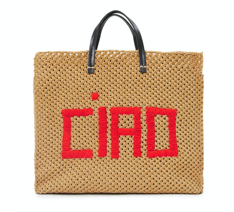 Clare V simple summer CIAO tote at maeree