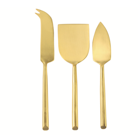 Gold Cheese Set
