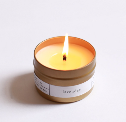 brooklyn candle studio lavender travel candle at maeree