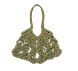 kayu harper woven bag sage at maeree