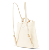 white leather backpack from clare v at maeree