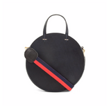 clare v red and navy striped crossbody strap at maeree