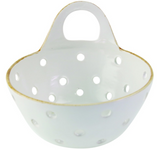 be-home stoneware colander basket