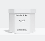 aydry white tea candle at maeree